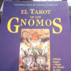 Libros antiguos: EL TAROT DE LOS GNOMOS--GIORDANO BERTI-ANTONIO LUPATELLI-EDIC. OBELISCO-1ª EDICION 1992. Lote 157979705
