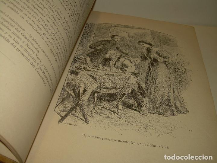 Libros antiguos: UN MUNDO DESCONOCIDO. DOS AÑOS EN LA LUNA....SIGLO XIX. - Foto 3 - 97133107