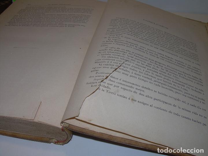 Libros antiguos: UN MUNDO DESCONOCIDO. DOS AÑOS EN LA LUNA....SIGLO XIX. - Foto 6 - 97133107