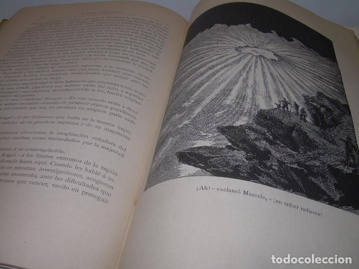 Libros antiguos: UN MUNDO DESCONOCIDO. DOS AÑOS EN LA LUNA....SIGLO XIX. - Foto 10 - 97133107