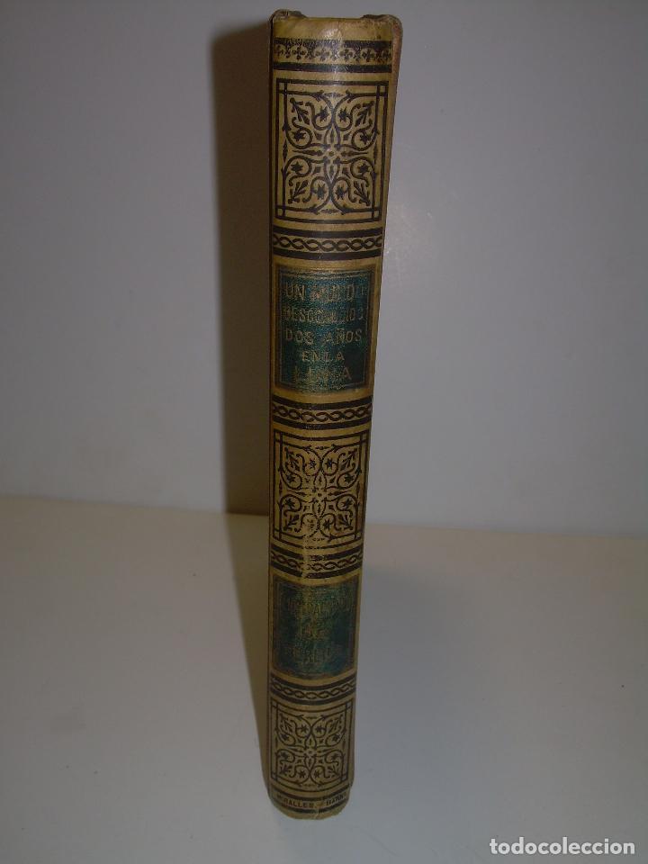 Libros antiguos: UN MUNDO DESCONOCIDO. DOS AÑOS EN LA LUNA....SIGLO XIX. - Foto 12 - 97133107