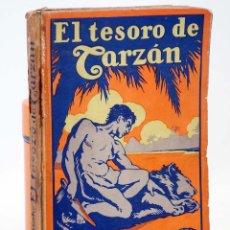 Libros antiguos: AVENTURAS DE TARZÁN 5. EL TESORO DE TARZÁN (EDGAR RICE BURROUGHS) GUSTAVO GILI, 1927. Lote 99366814