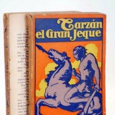 Libros antiguos: AVENTURAS DE TARZÁN 11. TARZÁN EL GRAN JEQUE (EDGAR RICE BURROUGHS) GUSTAVO GILI, 1929. Lote 99366912