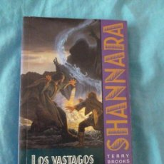 Libros antiguos: LOS VASTAGOS DE SHANNARA 1 TERRY BROOKS EDITORIAL: TIMUN MAS, (1998) 275PP. Lote 100147103
