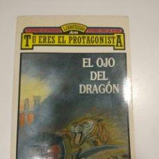 Libros antiguos: EL OJO DEL DRAGON LIBRO JUEGO ARIN DAVE MORRIS. Lote 102560648