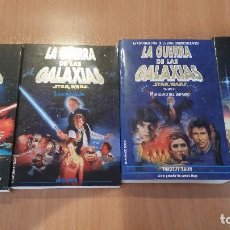 Libros antiguos: PACK 4 STAR WARS - LA GUERRA DE LAS GALAXIAS - GEORGE LUCAS - DARTH VADER - SKYWALKER - JEDI - SITH. Lote 102600839