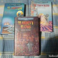 Libros antiguos: LOTE TRIOLOGIA EL SEÑOR DEL TIEMPO. Lote 103985678