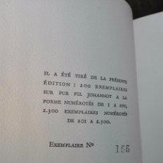 Libros antiguos: LES FLEURS DU MAL - CHARLES BAUDELAIRE - COLLECTION PASTELS - ED. DU PANTHEON - PARIS - 1947 -. Lote 103617451