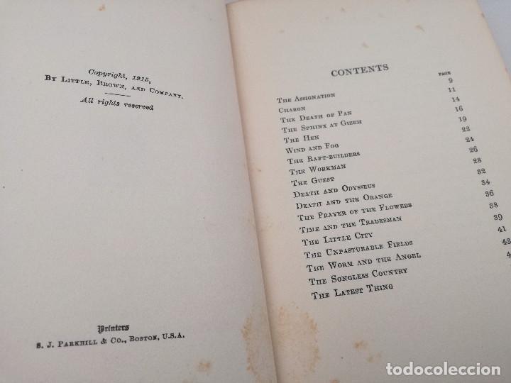 Libros antiguos: FIFTY-ONE TALES (51 CUENTOS) - LORD DUNSANY, 1917. CUENTOS DE LITERATURA FANTÁSTICA - Foto 3 - 103617843