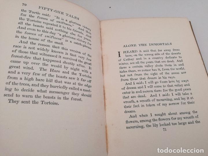 Libros antiguos: FIFTY-ONE TALES (51 CUENTOS) - LORD DUNSANY, 1917. CUENTOS DE LITERATURA FANTÁSTICA - Foto 4 - 103617843
