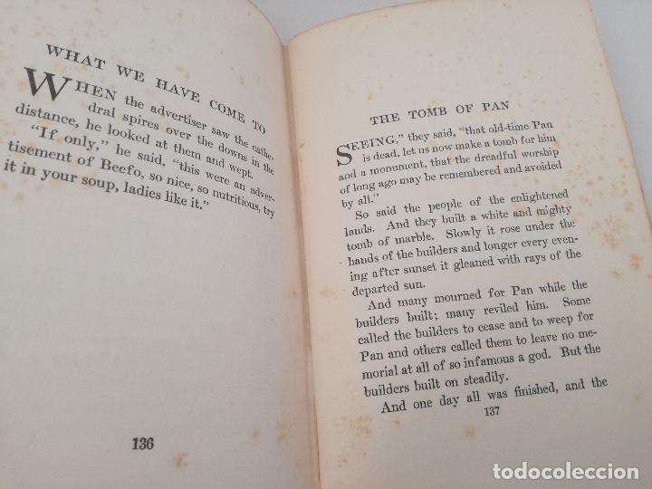 Libros antiguos: FIFTY-ONE TALES (51 CUENTOS) - LORD DUNSANY, 1917. CUENTOS DE LITERATURA FANTÁSTICA - Foto 5 - 103617843