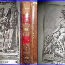 Libros antiguos: AÑO 1790: CARTAS A EMILIO SOBRE MITOLOGÍA: CIBELES, SATURNO, CERES, JÚPITER... SIGLO XVIII.. Lote 104069503