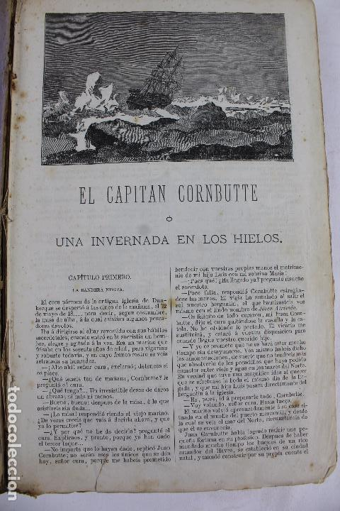 L-4568. OBRAS INÉDITAS DE JULIO VERNE. FINALES SIGLO XIX. BARCELONA 1886. (Libros antiguos (hasta 1936), raros y curiosos - Literatura - Narrativa - Ciencia Ficción y Fantasía)