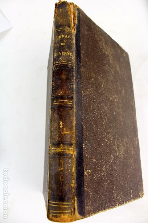 Libros antiguos: L-4568. OBRAS INÉDITAS DE JULIO VERNE. FINALES SIGLO XIX. BARCELONA 1886. - Foto 2 - 104307731
