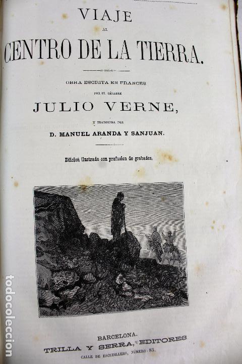 Libros antiguos: L-4568. OBRAS INÉDITAS DE JULIO VERNE. FINALES SIGLO XIX. BARCELONA 1886. - Foto 4 - 104307731