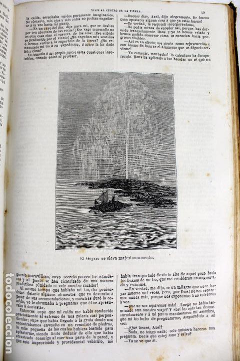 Libros antiguos: L-4568. OBRAS INÉDITAS DE JULIO VERNE. FINALES SIGLO XIX. BARCELONA 1886. - Foto 5 - 104307731