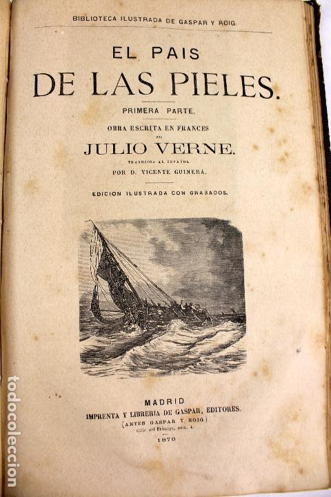 Libros antiguos: L-4568. OBRAS INÉDITAS DE JULIO VERNE. FINALES SIGLO XIX. BARCELONA 1886. - Foto 9 - 104307731