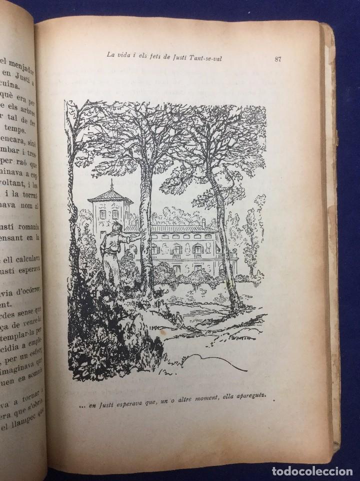 FOLCH I TORRES / JUNCEDA. LA VIDA I ELS FETS DE JUSTÍ TANT-SE-VAL. 1929 (Libros antiguos (hasta 1936), raros y curiosos - Literatura - Narrativa - Ciencia Ficción y Fantasía)