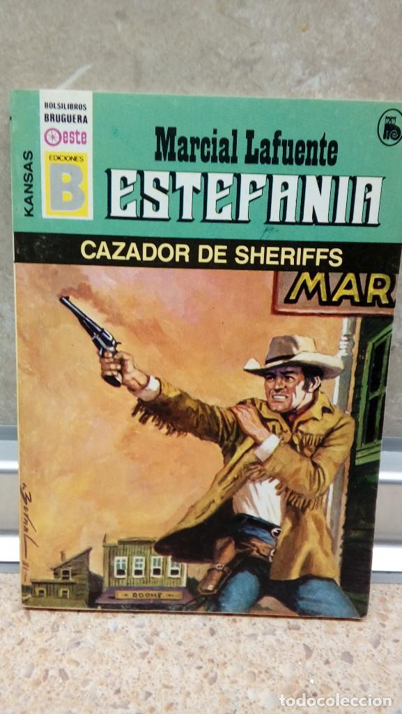 NOVELA ESTEFANIA DE MARCIAL LAFUENTE, CAZADOR DE SHERIFFS. (Libros antiguos (hasta 1936), raros y curiosos - Literatura - Narrativa - Ciencia Ficción y Fantasía)