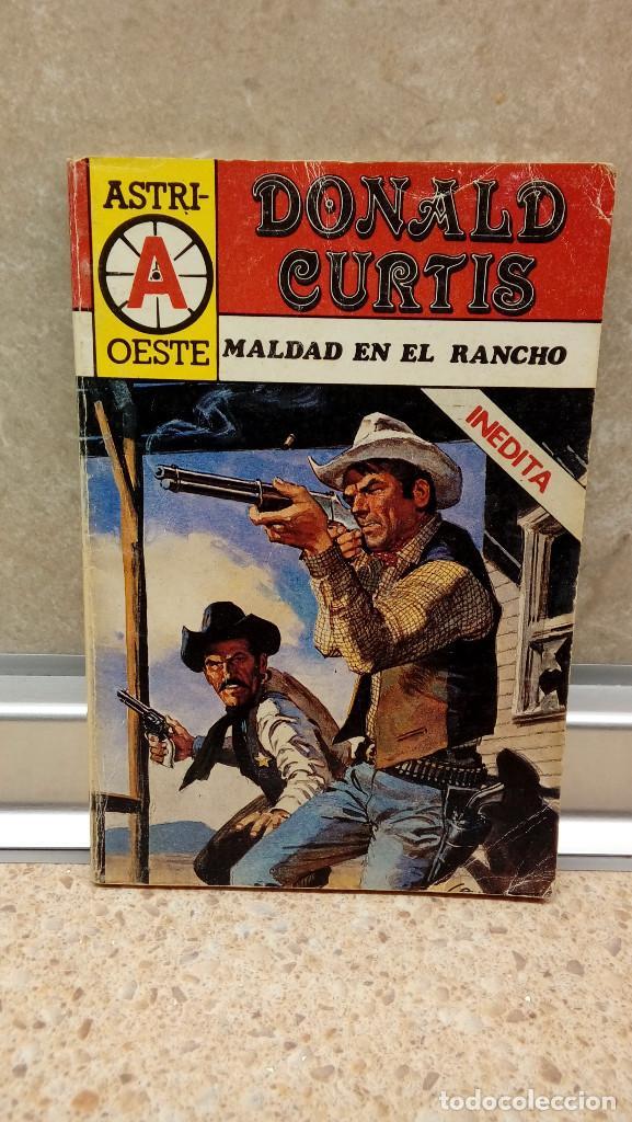 NOVELA, ASTRI-OESTE DE DONALD CURTIS, MALDAD EN EL RANCHO, TIPO ESTEFANIA. (Libros antiguos (hasta 1936), raros y curiosos - Literatura - Narrativa - Ciencia Ficción y Fantasía)