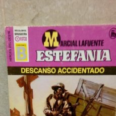 Libros antiguos: NOVELA ESTEFANIA DE MARCIAL LAFUENTE, DESCANSO ACCIDENTADO.. Lote 106085711