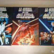 Libros antiguos: LIBROS STAR WARS LA GUERRA DE LAS GALAXIAS TRILOGÍA ORIGINAL COMPLETA. Lote 207291600
