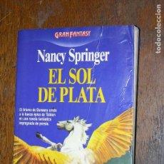 Libros antiguos: F1 GRAN SUPER FICCION NANCY SPRINGER EL SOL DE PLATA. Lote 107218599