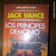 Libros antiguos: F1 GRAN SUPER FICCION JACK LOS PRINCIPES DEMONIO. Lote 107229907