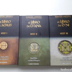 Alte Bücher - Myst, Obra completa (3 tomos) Planeta DeAgostini, tapa dura - 107987731