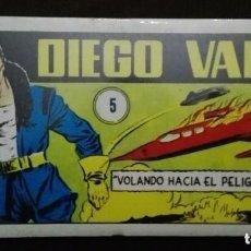Libros antiguos: CÓMIC DIEGO VALOR - VOLANDO HACIA EL PELIGRO,. Lote 109064395