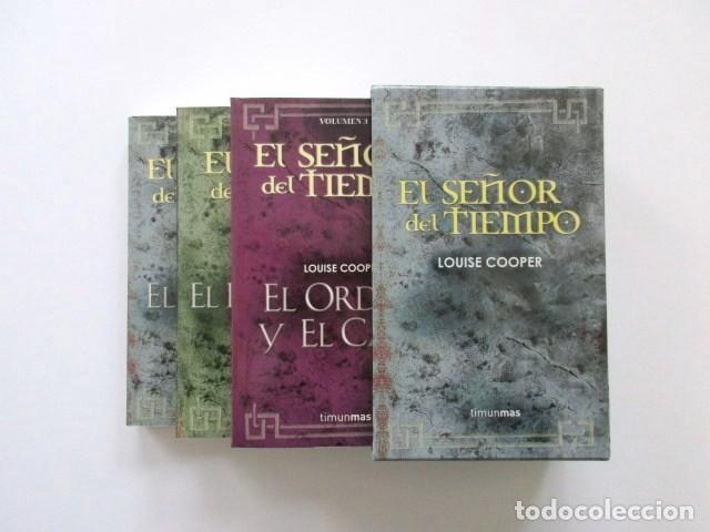Libros antiguos: ESTUCHE EL SEÑOR DEL TIEMPO, IMPECABLE, CON LOS TRES LIBROS, LOUISE COOPER, MUY DESCATALOGADO - Foto 2 - 208176045