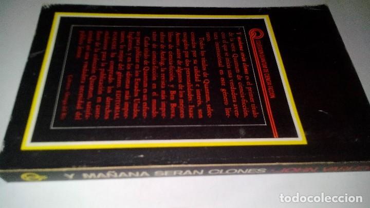 Libros antiguos: Y MAÑANA SERAN CLONES-JOHN VARLEY.-EDITORIAL POMAIRE AÑO 1978 - Foto 2 - 113309283
