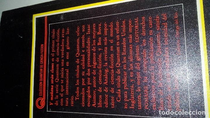 Libros antiguos: Y MAÑANA SERAN CLONES-JOHN VARLEY.-EDITORIAL POMAIRE AÑO 1978 - Foto 3 - 113309283