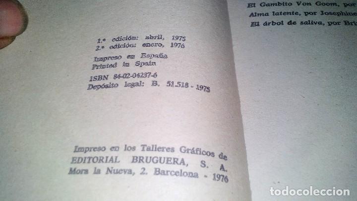 Libros antiguos: CIENCIA FICCION-SELECCION 16-BRIAN W. ALDISS,VICTOR COTOSKI,JOSEPHINE SAXTON,VANCE-BRUGUERA 1976 - Foto 5 - 113309431