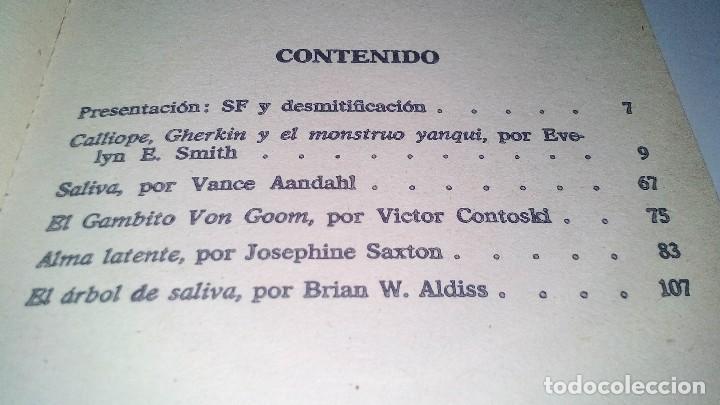 Libros antiguos: CIENCIA FICCION-SELECCION 16-BRIAN W. ALDISS,VICTOR COTOSKI,JOSEPHINE SAXTON,VANCE-BRUGUERA 1976 - Foto 6 - 113309431