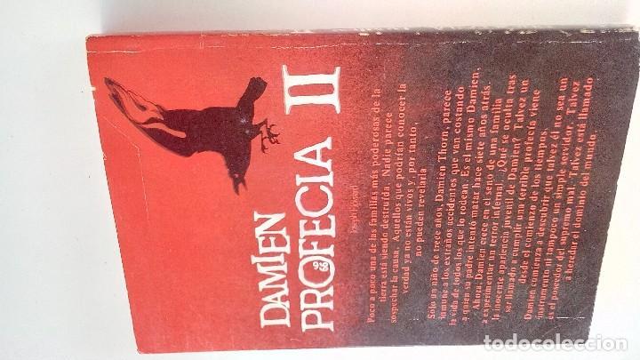Libros antiguos: DAMIEN PROFECIA II-JOSEPH HOWARD. JAVIER VERGARA EDITOR-EDICION 1978-BUENOS AIRES-ARGENTINA - Foto 2 - 113310063