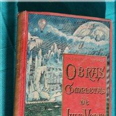 Libros antiguos: OBRAS COMPLETAS DE JULIO VERNE. TOMO 4. EDITADO POR SAENZ DE JUBERA HERMANOS (1870 ?). Lote 114395435