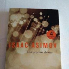Libros antiguos: LOS PROPIOS DIOSES DE ISAAC ASIMOV DE SOLARIS FICCIÓN DE LA FACTORIA DE IDEAS. Lote 116876035