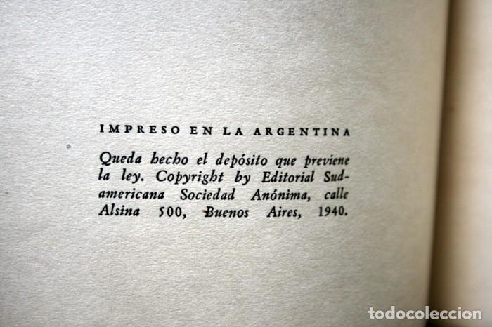 Libros antiguos: ANTOLOGIA DE LA LITERATURA FANTASTICA - BORGES - OCAMPO - BIOY CASARES - 1940 - primera edición - Foto 5 - 118712531