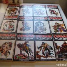 Libros antiguos: CONAN COLECCION FORUM COMPLETA 12 NÚMEROS. Lote 120256043