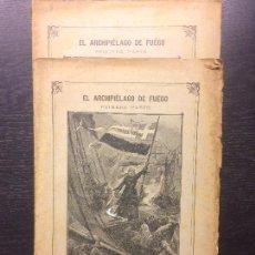 Libros antiguos: EL ARCHIPIELAGO DE FUEGO, JULIO VERNE, 1870. Lote 120445951
