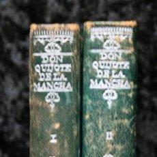 Libros antiguos: DON QUIJOTE DE LA MANCHA - 2 TOMOS - MINIATURA - CERVANTES - 1947 - . Lote 120683879