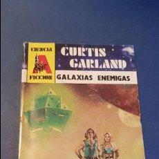 Libros antiguos: CIENCIA FICCION Nº 22 - GALAXIAS ENEMIGAS (1988). Lote 120696551