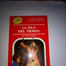 Libros antiguos: LA ISLA DEL TIEMPO ELIGE TU PROPIA AVENTURA Nº 68 LIBRO JUEGO TIMUN MAS DE LOS MAS DIFICILES . Lote 121555043