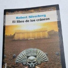 Libros antiguos: EL LIBRO DE LOS CRANEOS DE ROBERT SILVERBERG SOLARIS FICCION DE LA FACTORIA DE IDEAS. Lote 121560831
