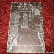 Libros antiguos: LOS ENGENDROS DEL DEMONIO 1 LOBO DE FUEGO, LIBROJUEGO, J.H.BRENNAN. Lote 121804619