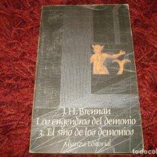 Libros antiguos: LOS ENGENDROS DEL DEMONIO 3. EL SINO DE LOS DEMONIOS, LIBROJUEGO, J.H.BRENNAN. Lote 121804999