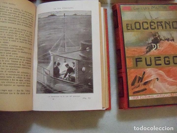Libros antiguos: COLECCION COMPLETA DE LA EDITORIAL MAUCCI DE LAS NOVELAS DEL CAPITAN LUIGGI MOTA - Foto 4 - 122242071