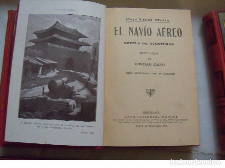 Libros antiguos: COLECCION COMPLETA DE LA EDITORIAL MAUCCI DE LAS NOVELAS DEL CAPITAN LUIGGI MOTA - Foto 5 - 122242071