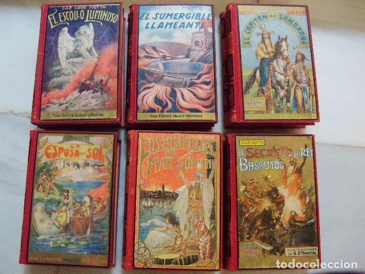 Libros antiguos: COLECCION COMPLETA DE LA EDITORIAL MAUCCI DE LAS NOVELAS DEL CAPITAN LUIGGI MOTA - Foto 6 - 122242071